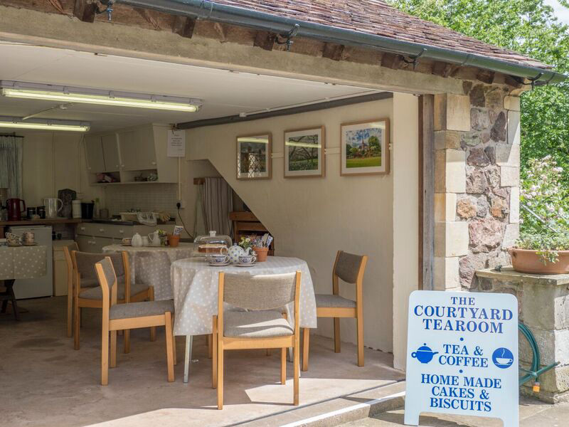 The Tea Rooms at Little Malvern Court